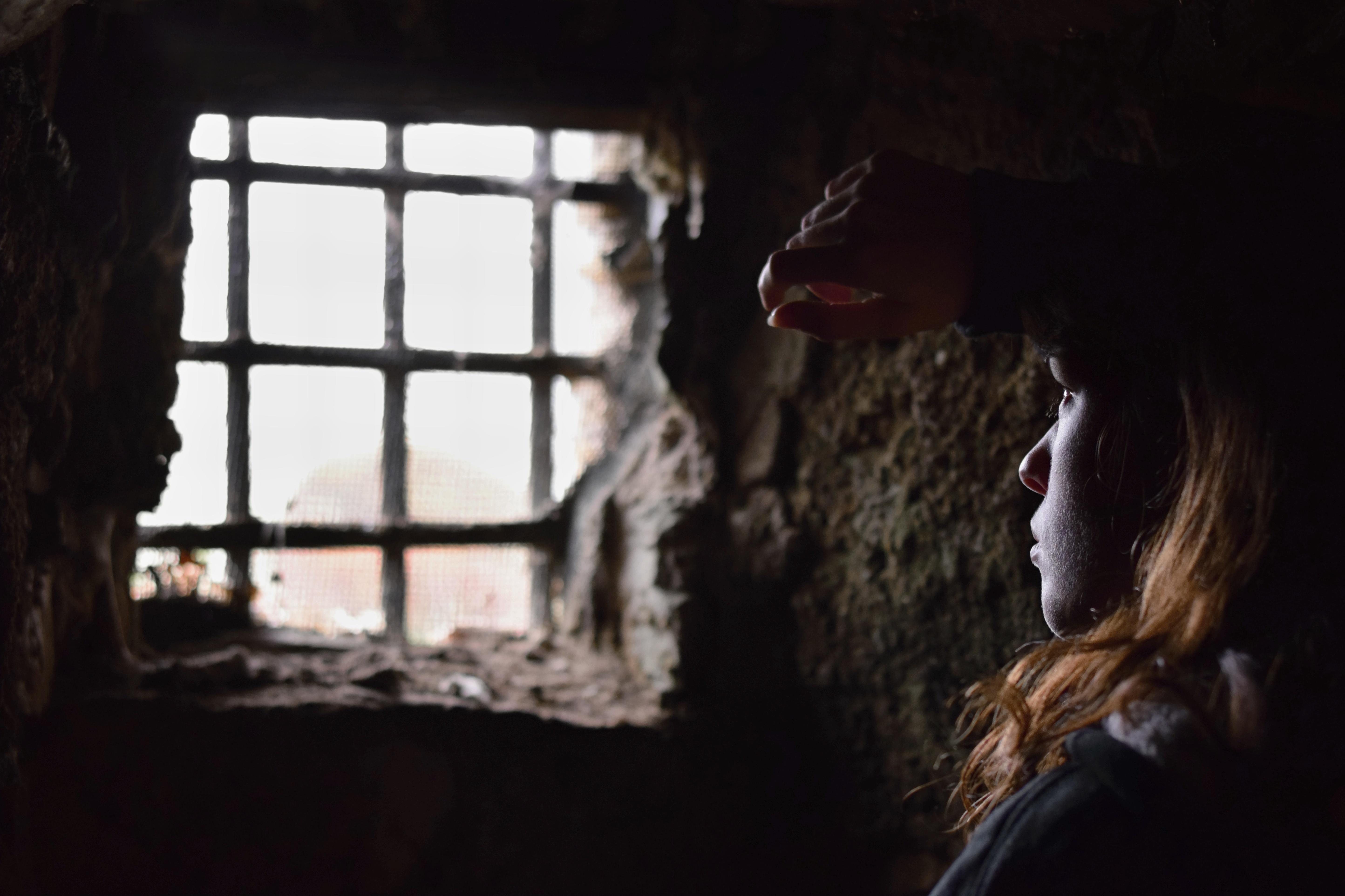 imprisoned by fear